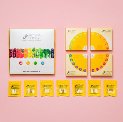 28 daily packs with your essential vitamins, packed individually